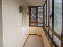 Отделка балкона в Анапе. Отделка лоджии