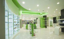 Отделка аптек в Анапе